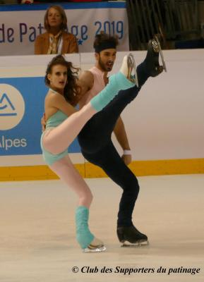 2019_11 GP France_Papadakis & Cizeron